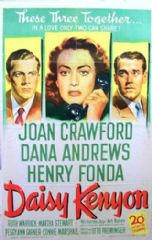 Daisy Kenyon 1947 DVD - Joan Crawford / Dana Andrews